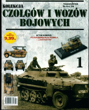 KOLEKCJA CZOŁGÓW I WOZÓW BOJOWYCH nr 1 + pojazd Sd доставка товаров из Польши и Allegro на русском