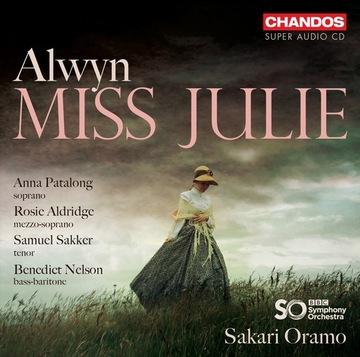William Alwyn Miss Julie - Opera CHANDOS 2 SACD доставка товаров из Польши и Allegro на русском