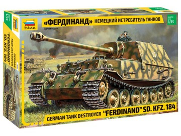 1:35 ЗВЕЗДА 3653 FERDINAND SD KFZ 184 доставка товаров из Польши и Allegro на русском