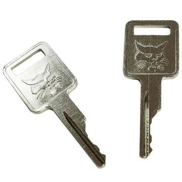 Oryginalny kluczyk BOBCAT do maszyn budowlanych