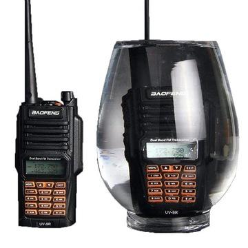 Baofeng UV-9R+ водонепроницаемый радио для ОПС РЖД PSP доставка товаров из Польши и Allegro на русском