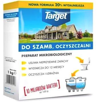 TARGET PREPARAT ŚRODEK DO SZAMB I OCZYSZCZALNI 1KG
