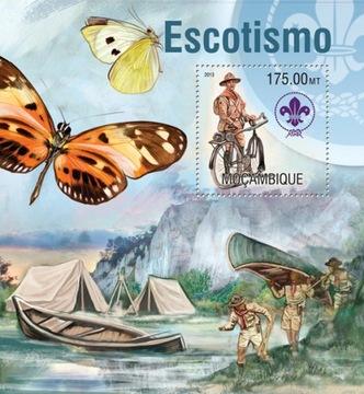 Скаутинг скауты, бабочки, велосипед, Мозамбик #99MOZ13302b доставка товаров из Польши и Allegro на русском