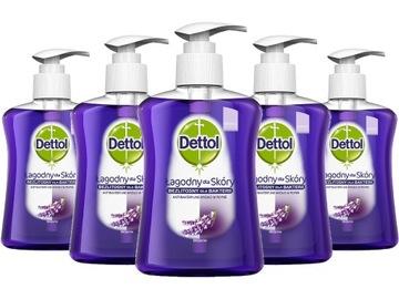 DETTOL жидкое мыло 5 шт НАБОР утешение доставка товаров из Польши и Allegro на русском