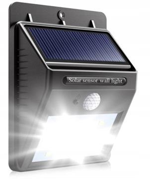 Лампа солнечная LED с датчиком движения и сумерек доставка товаров из Польши и Allegro на русском