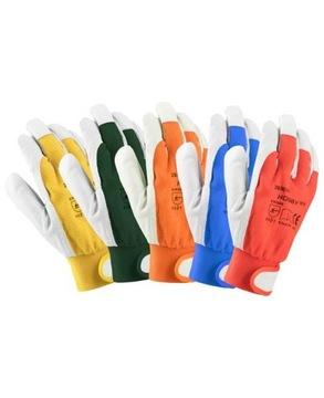 Перчатки Перчатки Рабочие Ардонском Кожа Хобби 8 М доставка товаров из Польши и Allegro на русском