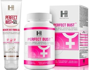 Perfect Bust Упругую Бюст +Гель Увеличение ГРУДИ доставка товаров из Польши и Allegro на русском