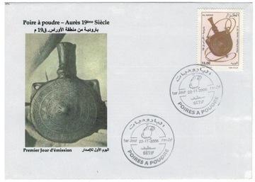 FDC Марки Алжир 2006 оружие пистолет ремесла доставка товаров из Польши и Allegro на русском