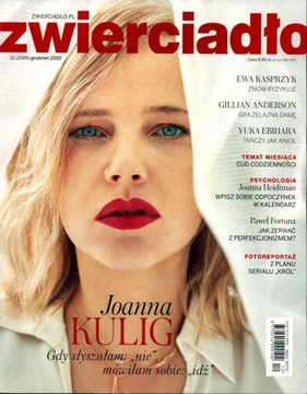 ZWIERCIADŁO nr 12/2020 Joanna Kulig: Gdy słyszałam доставка товаров из Польши и Allegro на русском
