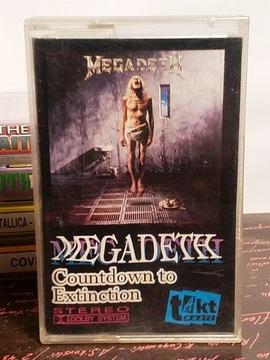 MEGADETH - COUNTDOWN TO EXTINCTION - MC доставка товаров из Польши и Allegro на русском