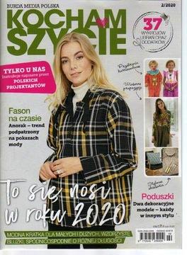 Kocham szycie 2/2020 wykroje dla dzieci доставка товаров из Польши и Allegro на русском