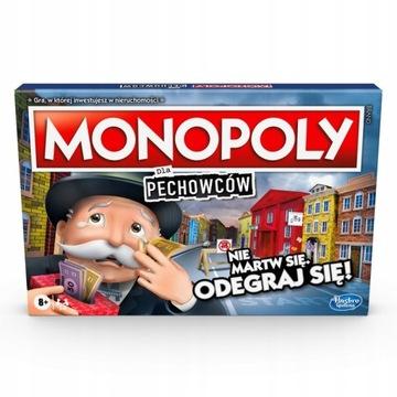 HASBRO GRA MONOPOLY DLA PECHOWCÓW POLSKA E9972 доставка товаров из Польши и Allegro на русском