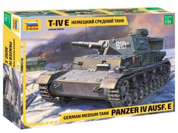 1:35 ZVEZDA 3641 PANZER IV AUSF E доставка товаров из Польши и Allegro на русском