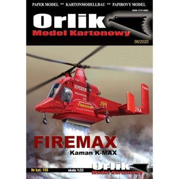 Орлик 159 - Вертолет Kaman K-MAX - FIREMAX 1:33 доставка товаров из Польши и Allegro на русском