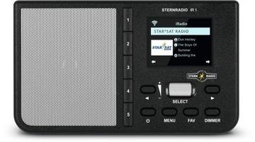 Radio Internetowe STERNRADIO IR1 TechniSat czarne доставка товаров из Польши и Allegro на русском