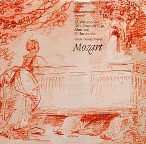 N - Mozart Ousset - Klaviersonate F-dur Kv 332... доставка товаров из Польши и Allegro на русском