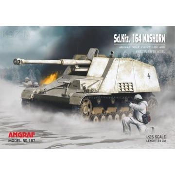 Angraf 187 сау Sd.Kfz. 164 Nashorn доставка товаров из Польши и Allegro на русском