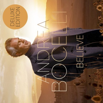 ANDREA BOCELLI BELIEVE DELUXE EDITION 1 CD BONUS доставка товаров из Польши и Allegro на русском