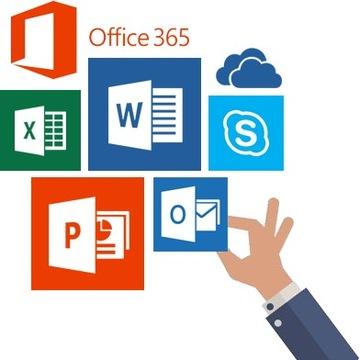 KLUCZ Microsoft Office 365 Pro Plus 2019 WIECZYSTY доставка товаров из Польши и Allegro на русском