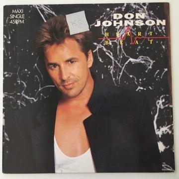 Don Johnson Heartbeat [EX/EX-] C98 доставка товаров из Польши и Allegro на русском