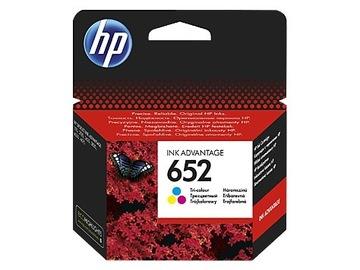 Чернила HP 652 F6V24AE ЦВЕТ ОРИГИНАЛ DeskJet Ink доставка товаров из Польши и Allegro на русском