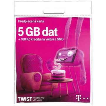 Czeska karta sim czeski T-mobile + 5GB na start доставка товаров из Польши и Allegro на русском