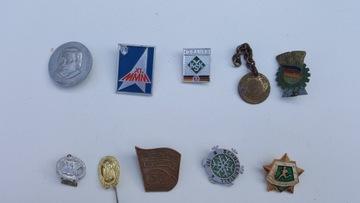 Немецкие старые значки 70 лет ПНР доставка товаров из Польши и Allegro на русском