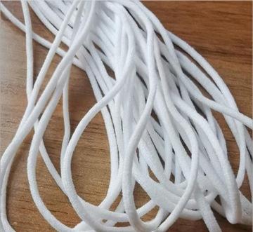 Резина резинка вязаная круглая для масок масок 10mb доставка товаров из Польши и Allegro на русском