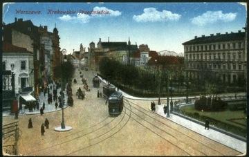 Warszawa Krakowskie Przedmieście AJO 1917 Feldpost доставка товаров из Польши и Allegro на русском