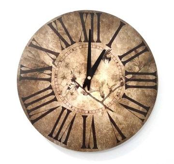 Zegar ścienny ZH84 retro vintage 30cm
