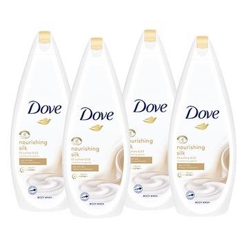 Dove Silk Glow гель для душа 4 x 750 мл доставка товаров из Польши и Allegro на русском