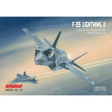Angraf 176 - Самолет F-35 Lightning II ru 1:33 доставка товаров из Польши и Allegro на русском