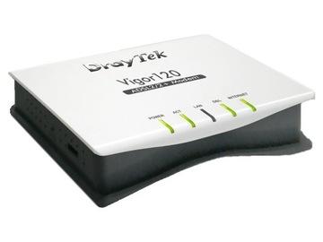 DRAYTEK VIGOR 120 МОДЕМ ADSL2+ доставка товаров из Польши и Allegro на русском