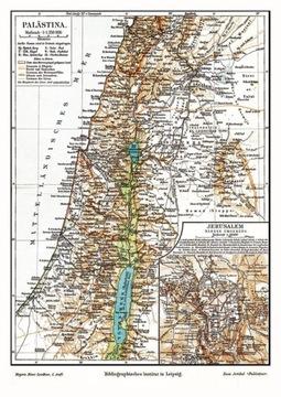 Карта Палестины доставка товаров из Польши и Allegro на русском
