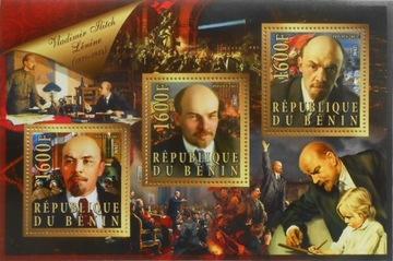Wł. Lenin rewolucja paździer. Benin ark. #BEN15-31 доставка товаров из Польши и Allegro на русском