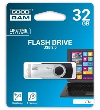 Флешки GoodRam Twister UTS2 BLACK 32GB доставка товаров из Польши и Allegro на русском
