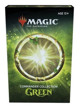 Magic: the Gathering Commander Collection: Green доставка товаров из Польши и Allegro на русском