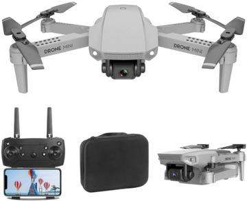 DRONE E88 С КАМЕРОЙ 4K WIFI HD 50x ZOOM 150m APP FPV  доставка товаров из Польши и Allegro на русском