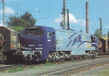 LOKOMOTYWA - 250 001-5 DE-AC33C BLUE TIGER- NIEMCY доставка товаров из Польши и Allegro на русском