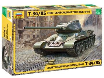 Звезда 1:35 Т-34-85 доставка товаров из Польши и Allegro на русском