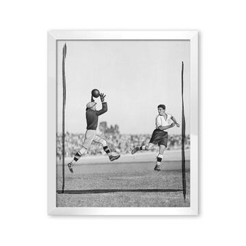 Футбол 1932 плакат ретро в плечо футбол матч доставка товаров из Польши и Allegro на русском