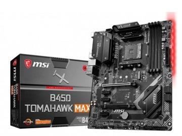 Материнская плата MSI B450 Tomahawk Max ATX AM4 доставка товаров из Польши и Allegro на русском