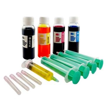 TUSZE czarny, kolory DO HP 300 301 304 650 302 305 доставка товаров из Польши и Allegro на русском