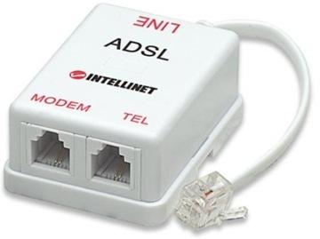 INTELLINET Передний 2/1 RJ11 ADSL доставка товаров из Польши и Allegro на русском