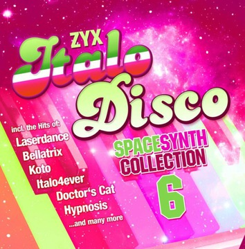 ZYX Italo Disco Spacesynth Collection 6 2020 2CD доставка товаров из Польши и Allegro на русском