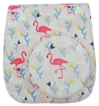 Pokrowiec, futerał do INSTAX Mini 11 flamingi доставка товаров из Польши и Allegro на русском