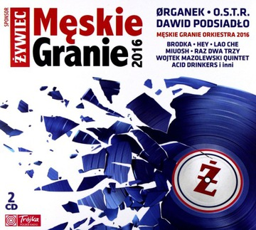МУЖСКИЕ ИГРЫ 2016 (ORGANEK O. S. T. R.) [2CD] доставка товаров из Польши и Allegro на русском