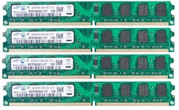 ОПЕРАТИВНАЯ память DDR2 8GB Samsung PC6400 800Mhz 4*2ГБ доставка товаров из Польши и Allegro на русском