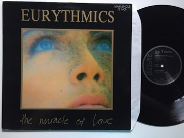Eurythmics The Miracle Of Love [EX+] B355 доставка товаров из Польши и Allegro на русском