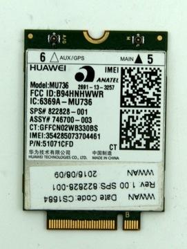 MODUŁ Huawei MU736 - 3G/HSPA+ NGFF - 21Mbps - GPS доставка товаров из Польши и Allegro на русском